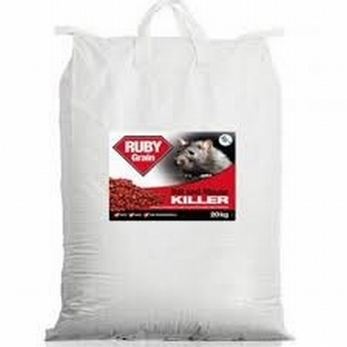 RACO WHOLE WHEAT DIFENACOUM BAIT 20KG