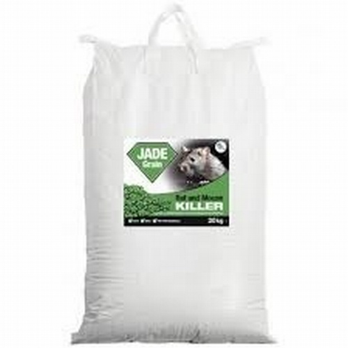 JADE WHOLE WHEAT BROMADIOLONE BAIT 20KG