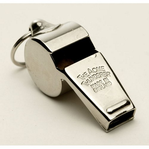 Acme Thunderer Brass N.P.Whistle (58)